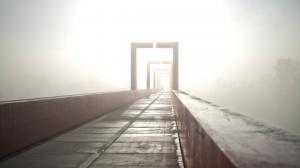 Pont Red brouillard